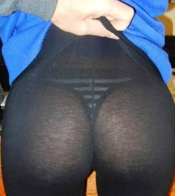 thick ass yoga pants
