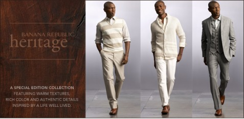 42ecd57bcdf Banana Republic s Heritage Collection Introduces Eco-Style
